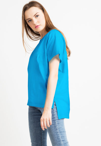 Basic Loose Tee - Blue