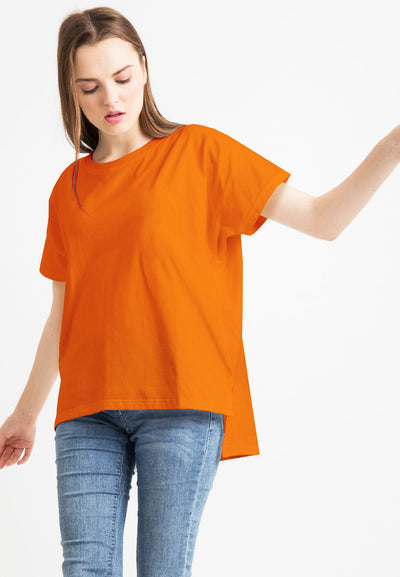 Basic Loose Tee - Orange