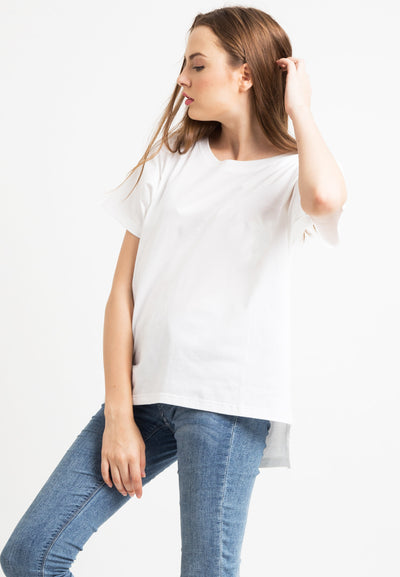 Basic Loose Tee - White