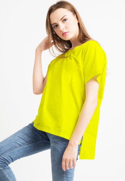 Basic Loose Tee - Yellow