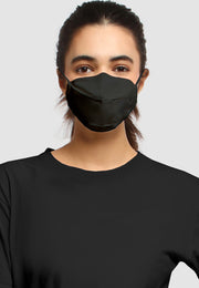 Q95 Disposable Face Mask - Earloop - Black