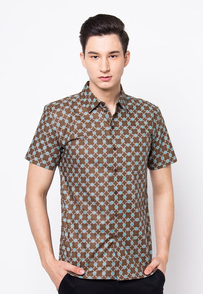 Cover.9 - Printed Shirt Green
