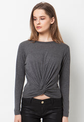 Front Knoted - Grey