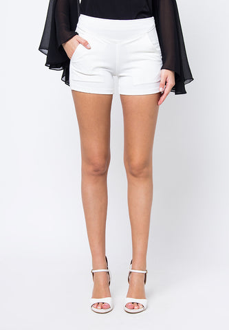 Cover.9 - Lined Short White