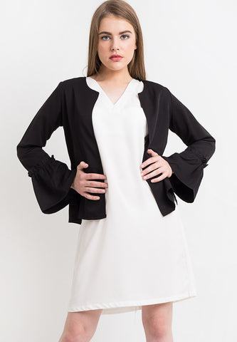 Bell Sleeves Outer- Black