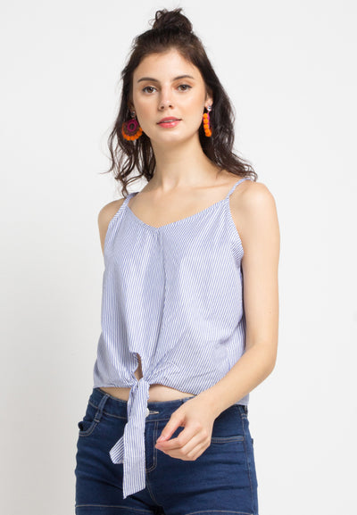 Stripped Crop Camisole