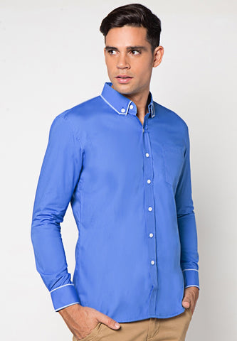 Judge.Man Gustavo Shirt - Blue