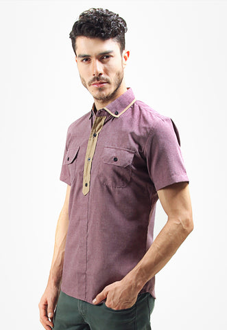 Judge.Man Rodrick Shirt - purple