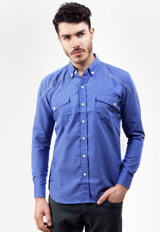 Judge.Man Rosee Shirt - Blue