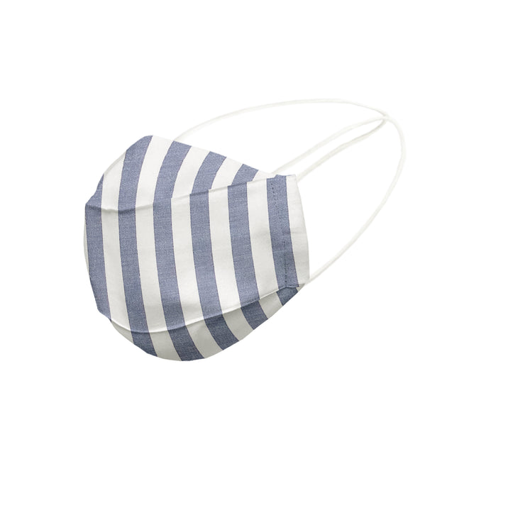 Cotton Face Mask With Filter Pocket - Hijab - Grand Stripe