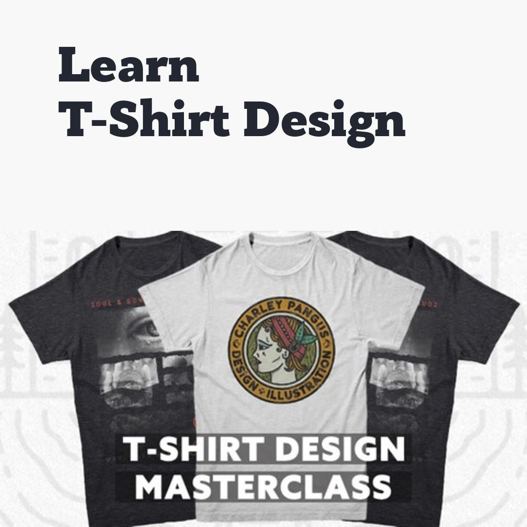 T-shirt Design Course using Adobe Photoshop | From Beginner to Pro