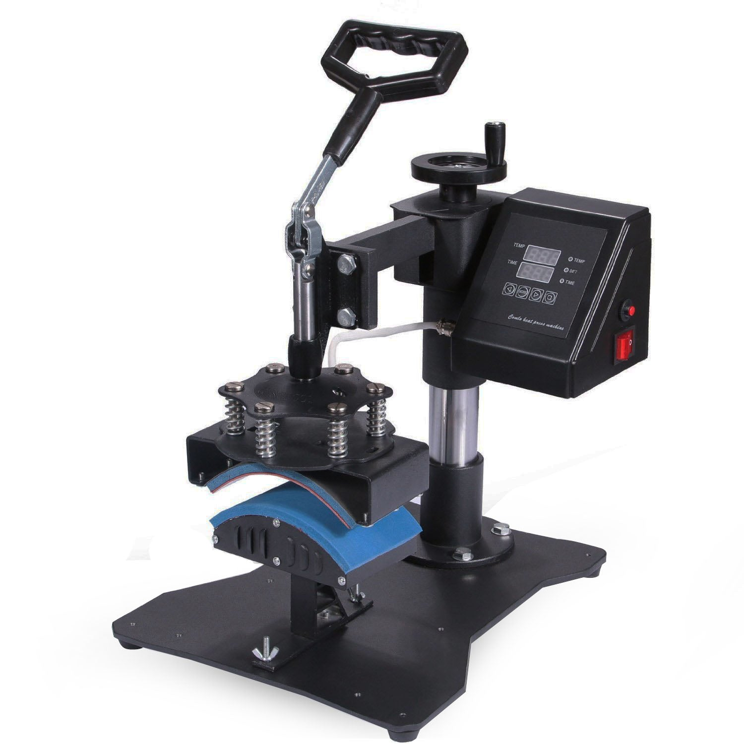 8-in-1 Swing-away Print-Transfer Machine (for T shirt, Mug, Cap,  Phone Cases, Plate, Bags & More)