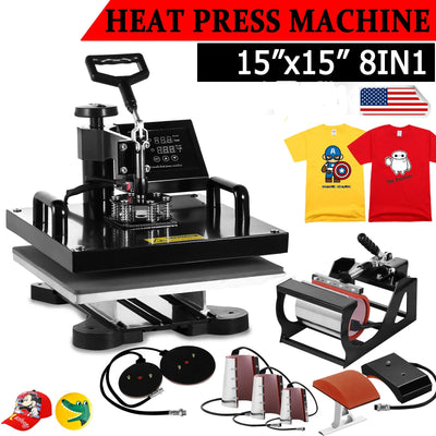 8-In-1 Print-Transfer Machine - Advanced Version (15