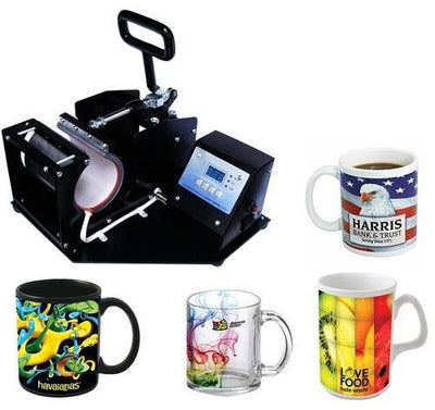 4-In-1 Mug Print-Transfer Machine