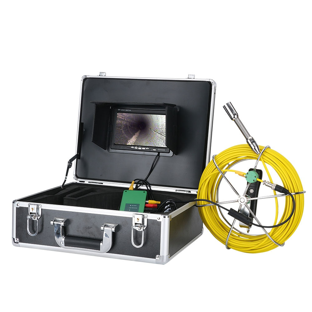 "7"" Pipe Sewer Inspection Video Camera (WiFi + DVR)"