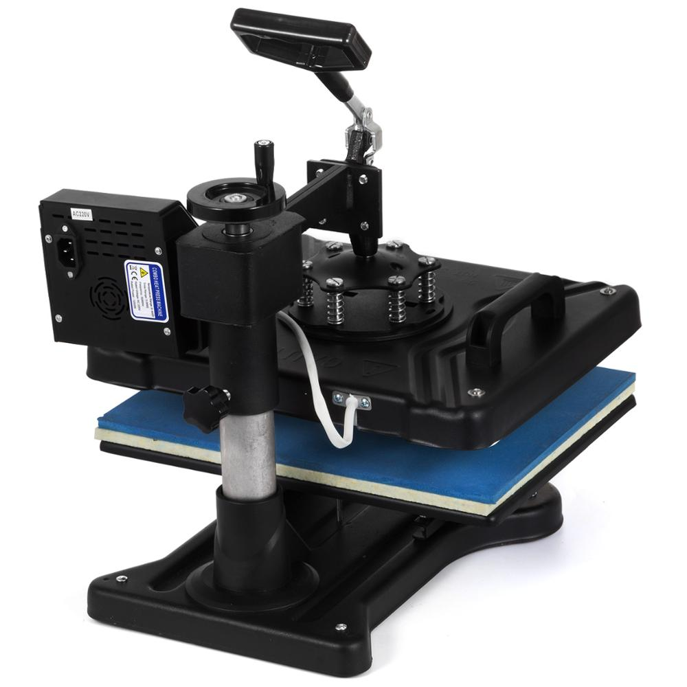 5-In-1 Swing Away Print-Transfer Machine (Mug, Cap, T Shirt, Phone Cases, Plate, Bags & More)