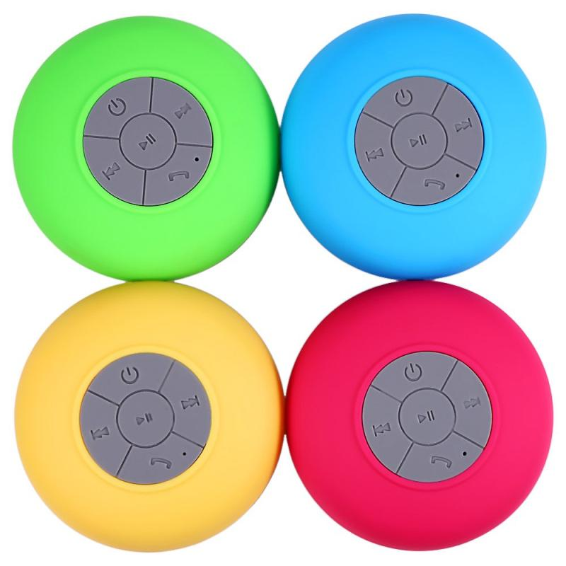 Mini Waterproof Wireless Bluetooth Speaker (Music, Receive Call & Suction Mic) - Handy Treat