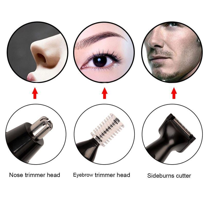 Electric Nose Ear Hair Trimmer - Handy Treat