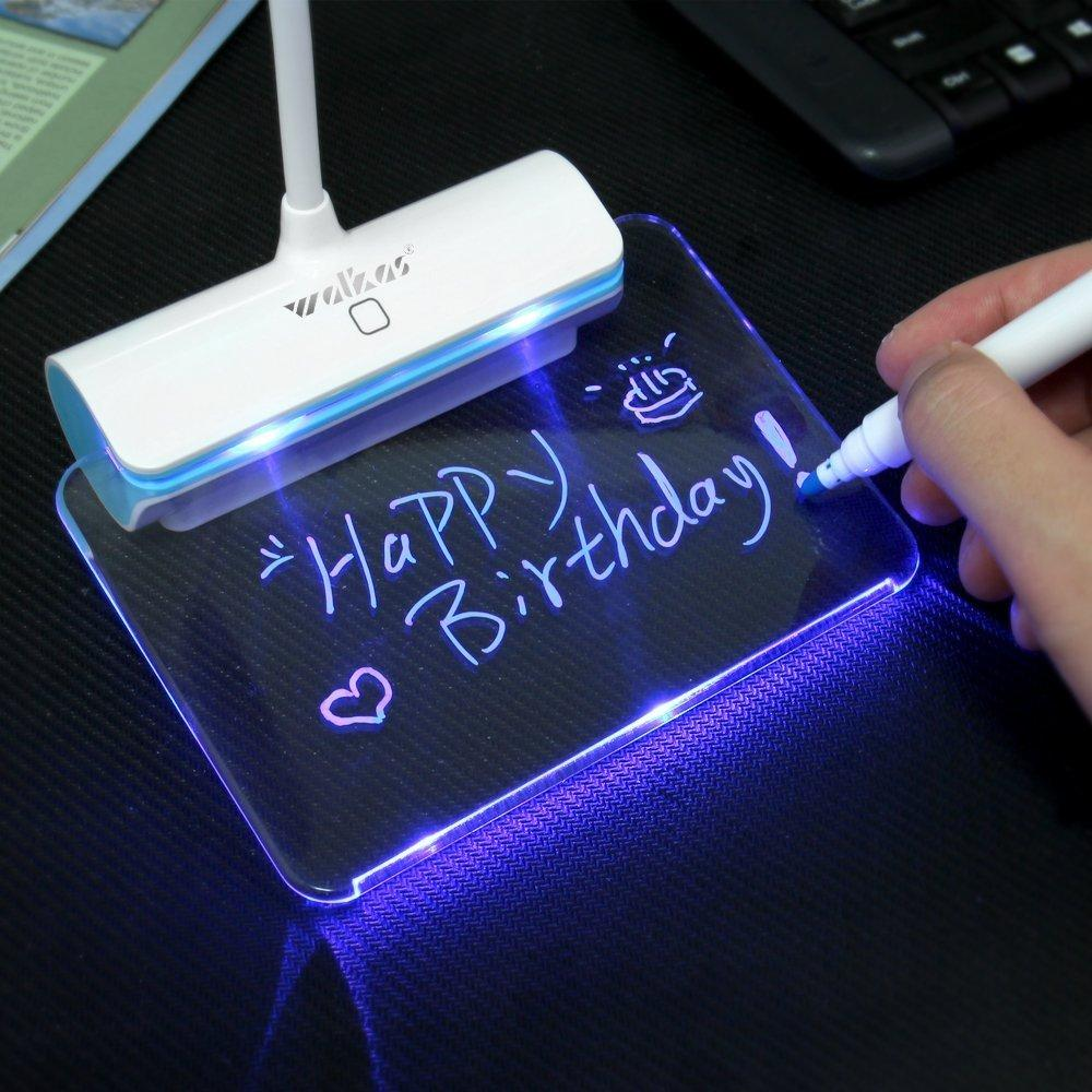 Rechargeable Touch Switch LED Lamp with Message Board - Handy Treat