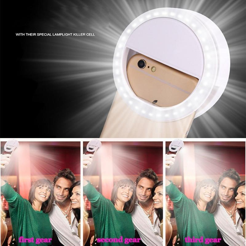 Selfie LED Ring Light - Handy Treat