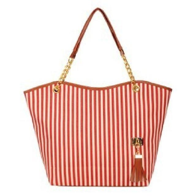 Canvas Big Hand Bag - Handy Treat