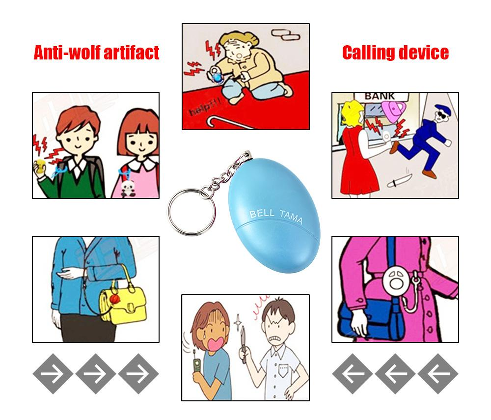 Safety Alarm Key Ring - Handy Treat
