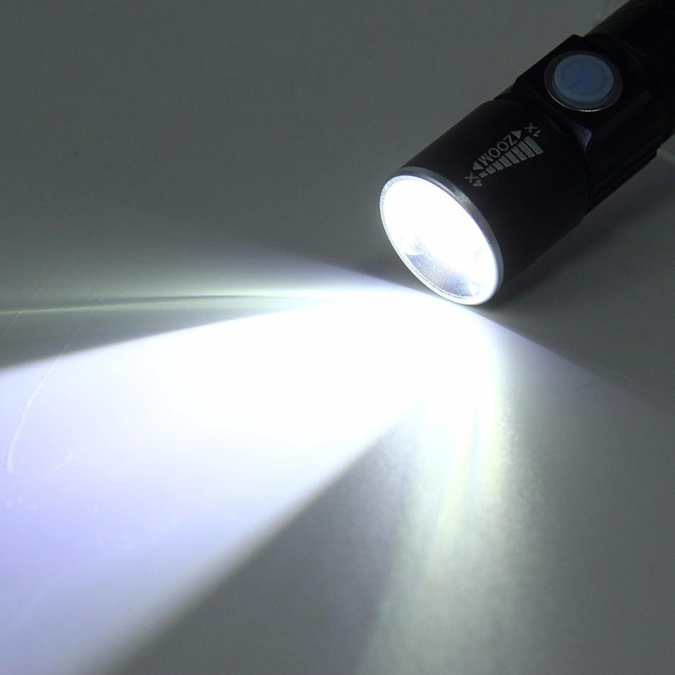 Powerful USB LED Flashlight - Handy Treat