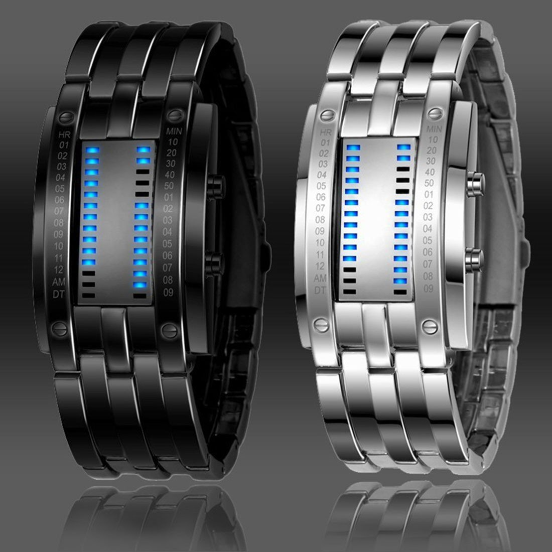 Future Technology Binary Smart Watch