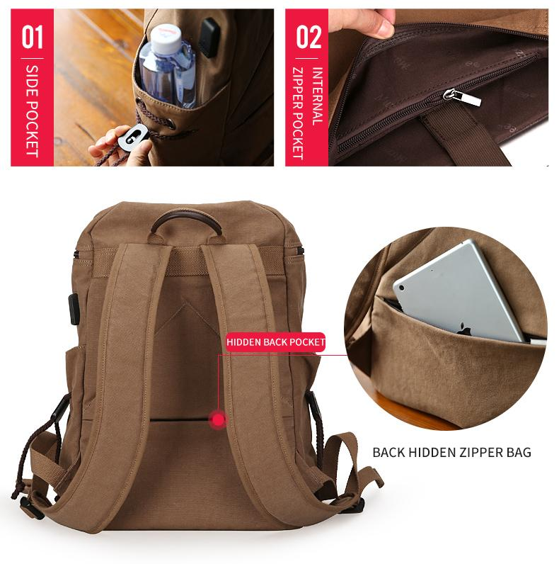 Super Canvas Backpack - Handy Treat