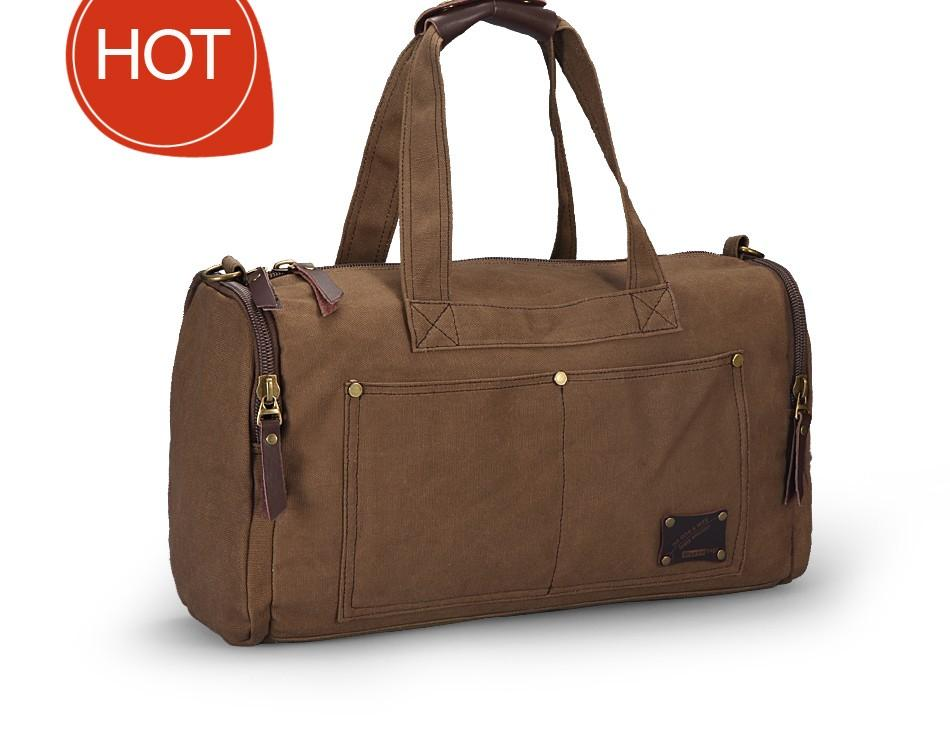 Canvas Duffle Bags - Handy Treat