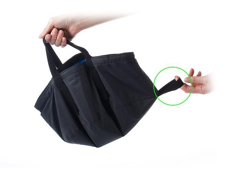 Folding Water Bag - 8.5L - Handy Treat