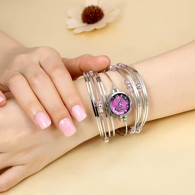 Bohemian Style Bracelet Watch (Available in 5 different colors) - Handy Treat