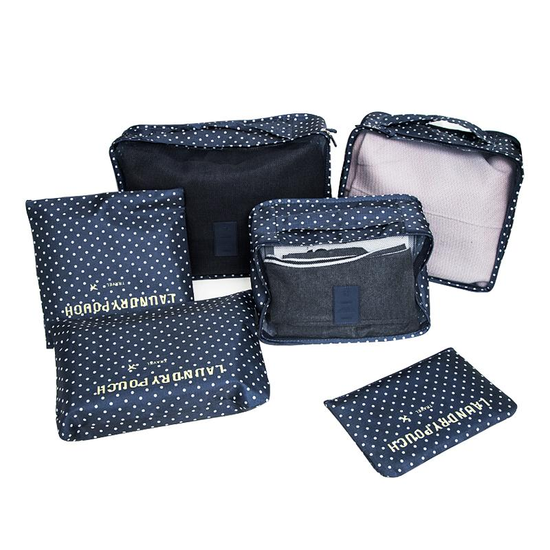Travel Storage Organizer - ( Shoes, Clothes, Toiletry) - 6 pcs/set - Handy Treat