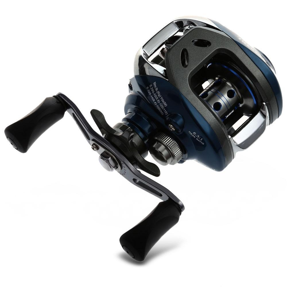 10+1BB Baitcasting Fishing Reel with Magnetic Brake System (Left/Right ) - Handy Treat
