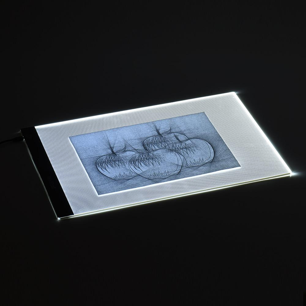 A3 Portable LED Light Drawing Board with Brightness Control - Handy Treat