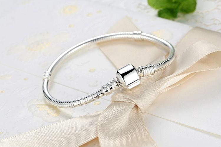 Snake Bracelet - 100% Authentic  925 Sterling Silver - Handy Treat