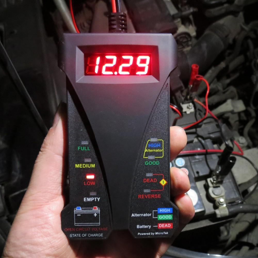 12V Digital Battery Tester - Handy Treat