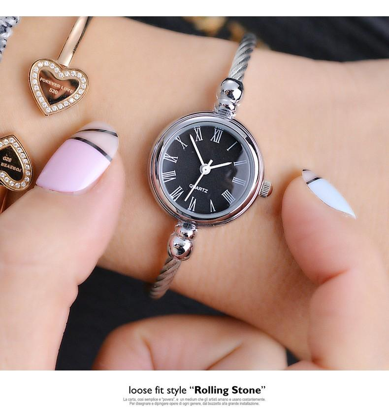 Womens Stainless Steel Cable Watch (Available in 4 different styles) - Handy Treat