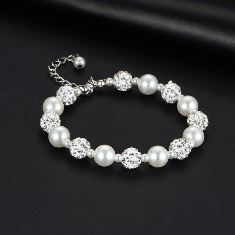 Simulated White Pearl Charm - Handy Treat