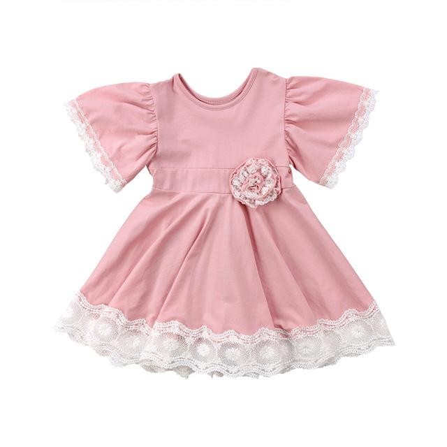 Pink Princess Dress (12m - 4yrs) - Handy Treat