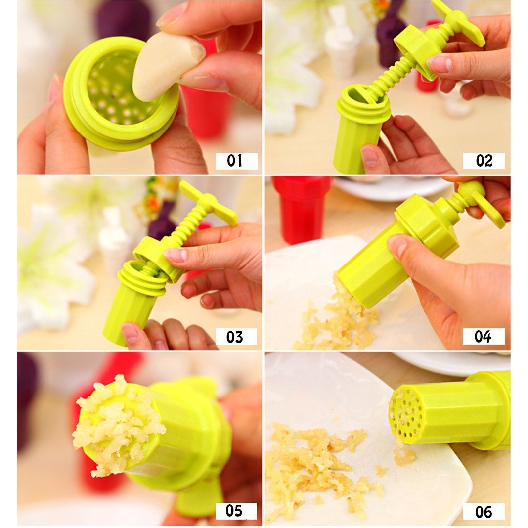 Garlic/Ginger Twist Cutter - Handy Treat