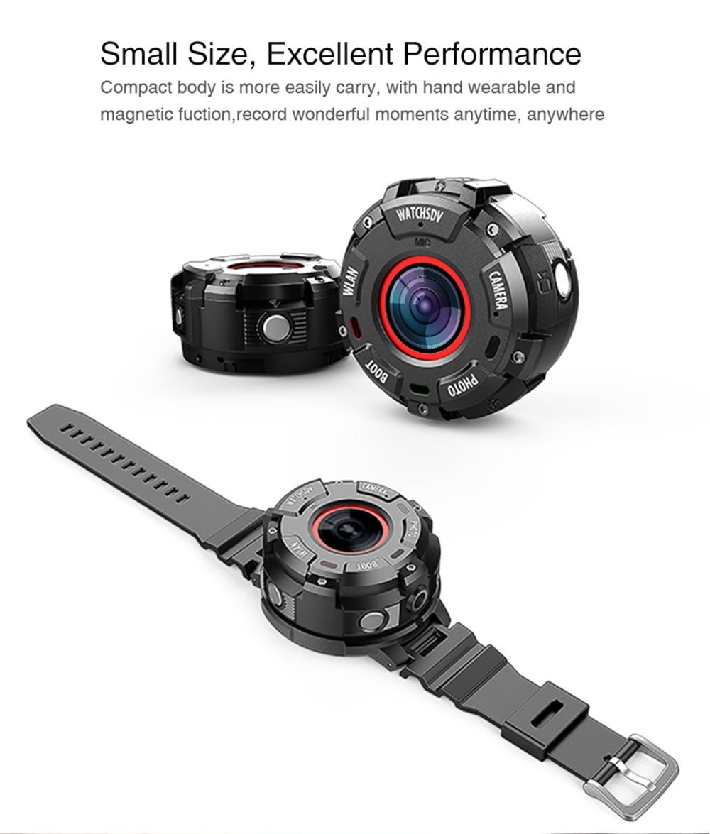 Sports Action Camera (Full HD, Waterproof & WIFI) - Handy Treat