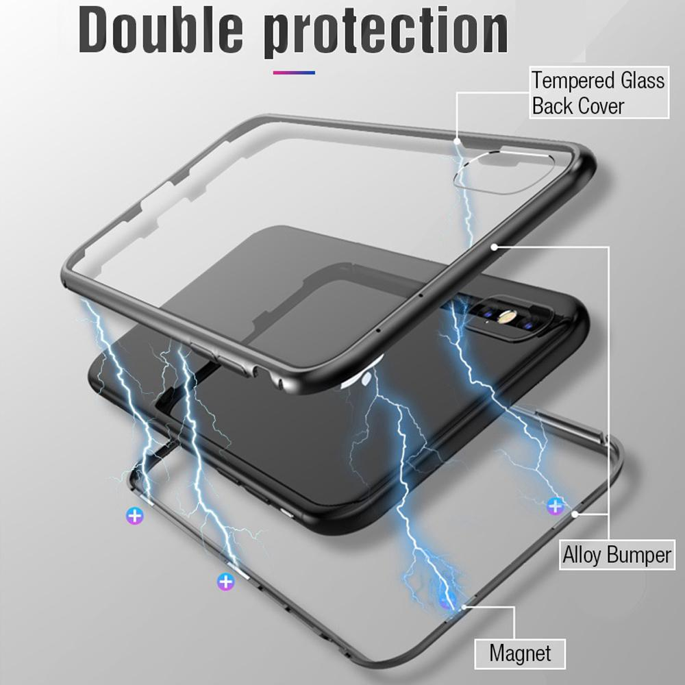 Indestructible Magnetic Adsorption iPhone Case - Handy Treat