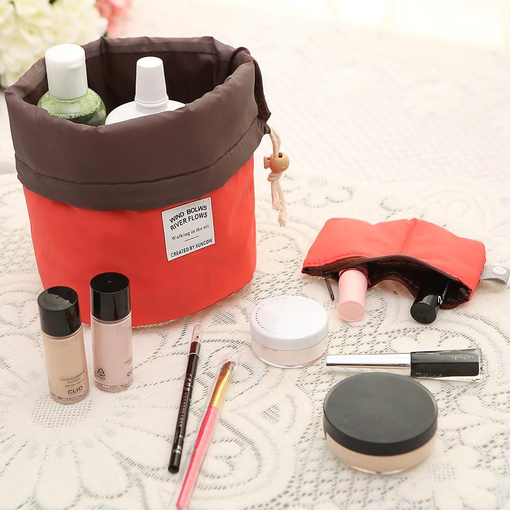 Cosmetic Drum Bag