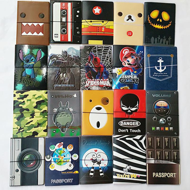 3D Design Passport Holders (22 different styles to choose from)