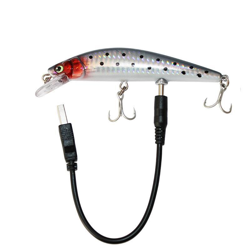 Rechargeable Twitching Lure with LED