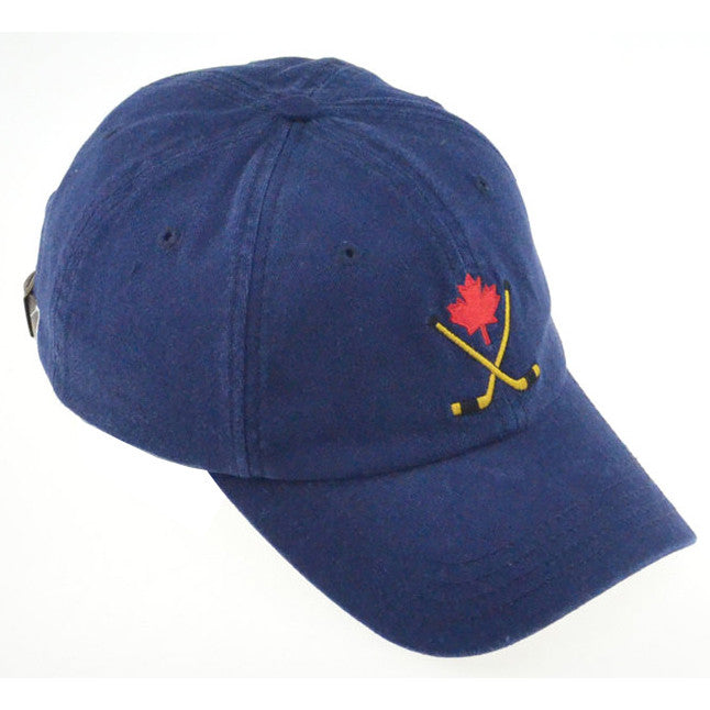 Canada Hockey Sticks Baseball Cap