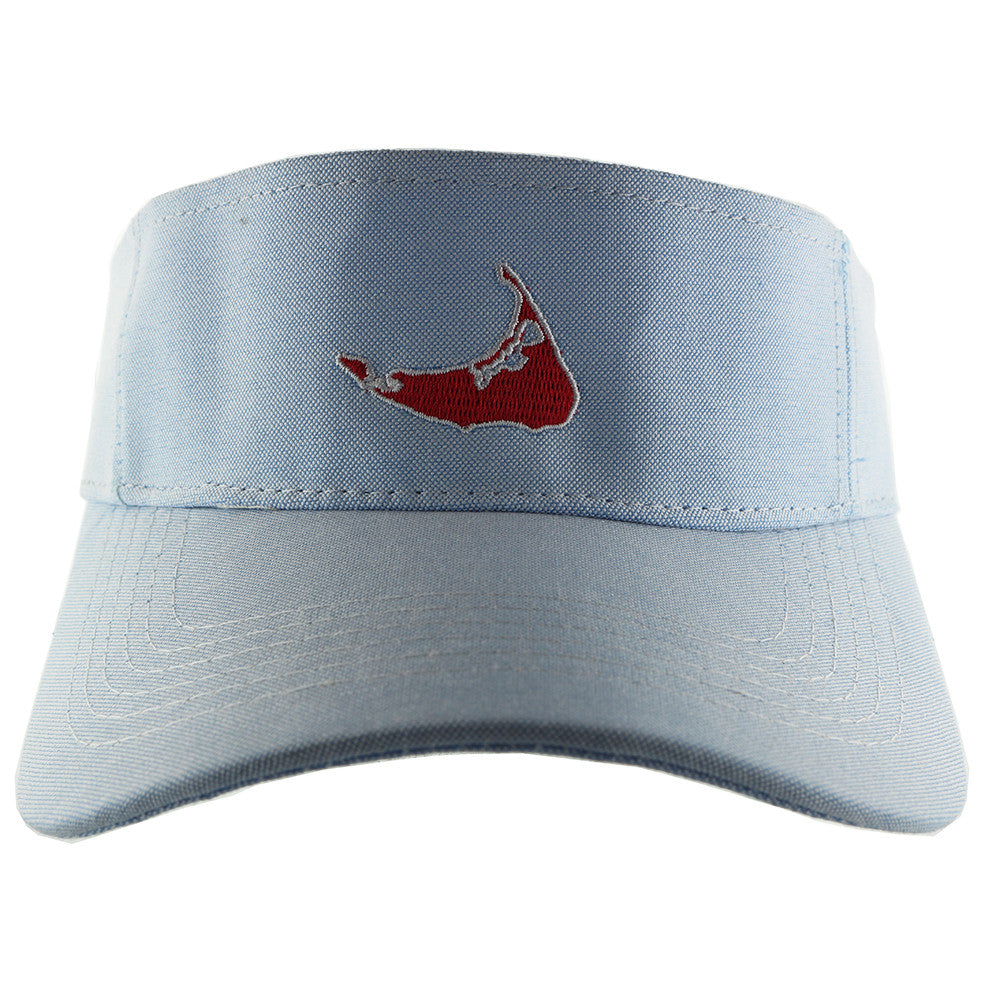 Nantucket Island Visor Hat