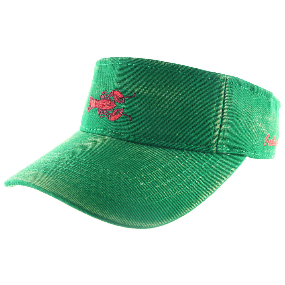 Preppy Lobster Visor Hat