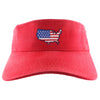 USA Nantucket Buckets Visor